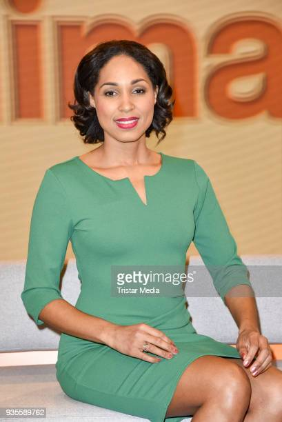 Jana Pareigis during the ZDF Mittagsmagazin photo call on March 21 2018 in Berlin Germany