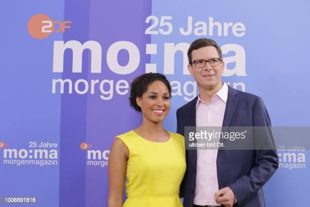 Jana Pareigis WolfChristian Ulrich Berlin Foto und Interviewtermin zu 25 Jahre MoMa