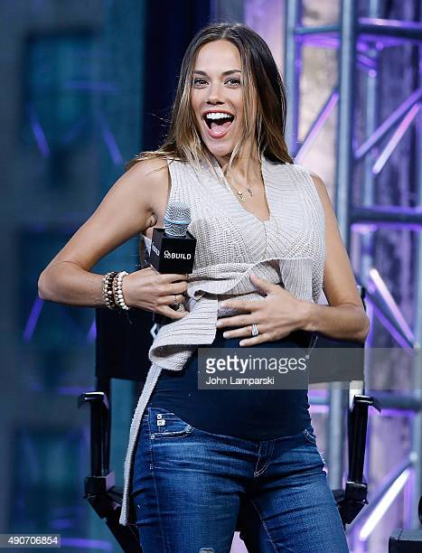 Jana Rae Kramer promotes 'Thirty One' during AOL Build speaker series at AOL Studios In New York on September 30 2015 in New York City