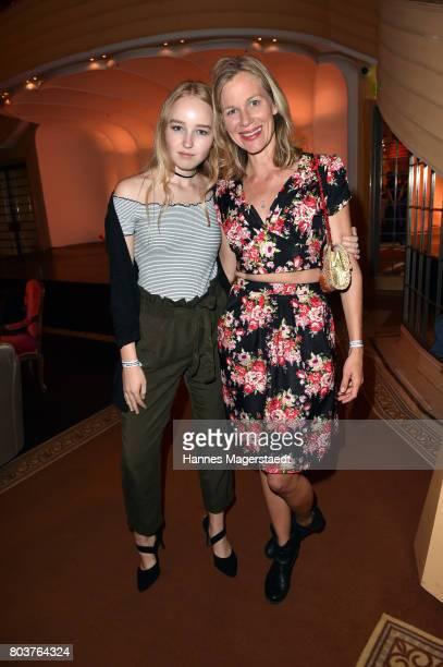 Jana Skorpen and Katharina Schwarz attend the Bernhard Wicki Award 2017 during the Munich Film Festival 2017 at Bayerischer Hof on June 29 2017 in...