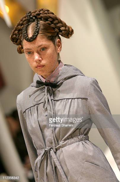 Jana wearing Peter Jensen Spring/Summer 2006 during London Fashion Week Spring/Summer 2006 Peter Jensen Runway and Backstage at Berkeley Square in...
