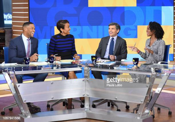 Janai Norman on ABC's 'Good Morning America' Monday February 11 2018 'Good Morning America' airs MondayFriday on ABC GM19 MICHAEL