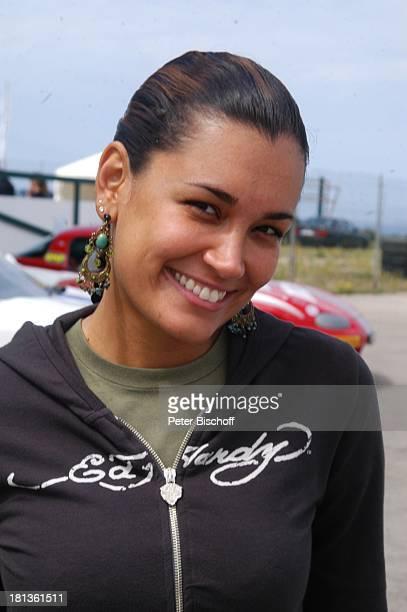 "Jana-Ina Zarrella, Porträt, ""Frauen bei Mazda""-Event, ""Circuito Mallorca RennArena"", bei Llucmajor, Insel Mallorca, Balearen, Spanien, , Prod.-Nr.:..."