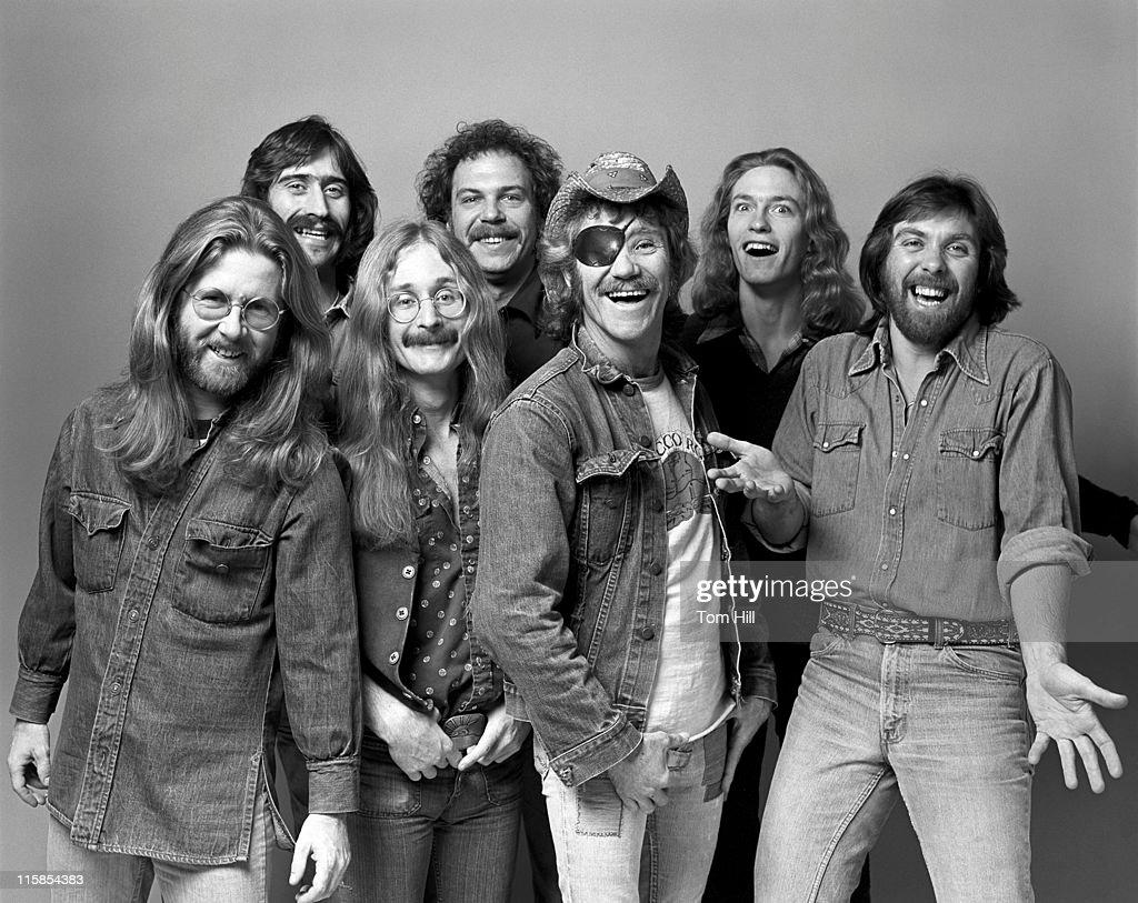 Doctor Hook Portrait Session - December 7, 1975 : News Photo