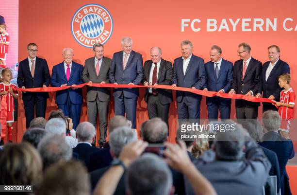 JanChristian Dreesen deputy chairman FC Bayern Munich vice president Walter Mennekes Karl Hopfner former FC Bayern Munich president premier of...