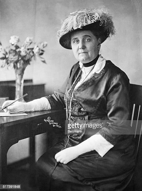 Jane Addams American social reformer Photograph 1914