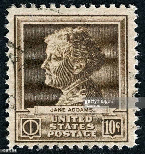 Jane Addams Stamp