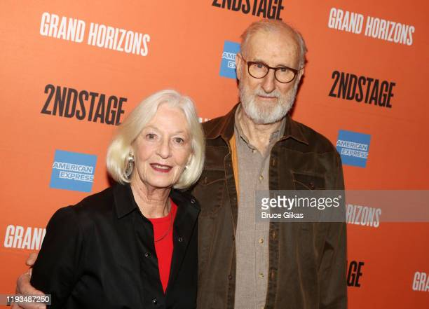 Jane Alexander and James Cromwell attend a meet and greet for Second Stage Theater's upcoming production of Grand Horizons on Broadway at The Liberty...