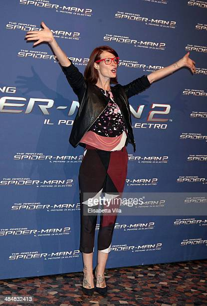 Jane Alexander attends 'The Amazing Spider-Man 2: Rise Of Electro' Rome Premiere at The Space Moderno Cinema on April 14, 2014 in Rome, Italy.
