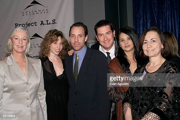 Jane Alexander Maddie Corman Jace Alexander Ed Gernon Bella and Diana Kerew at the Project ALS Gala Benefit and World Premiere of Jenifer at the...