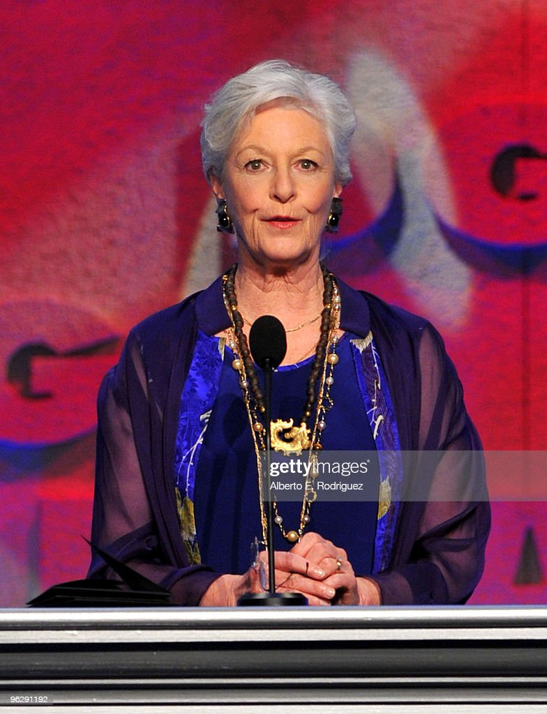Jane Alexander presents the Movies for Television / Mini-Series award onstage during the 62nd Annual Directors Guild Of America Awards at the Hyatt Regency Century Plaza on January 30, 2010 in Century City, California.