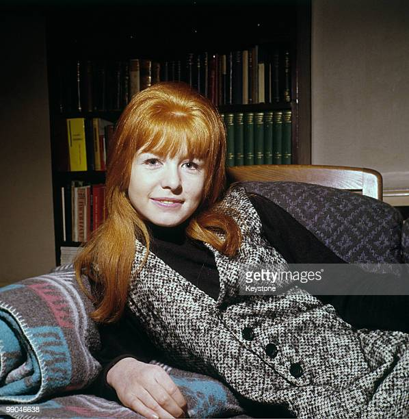 Jane Asher actress pictured at home in 1964