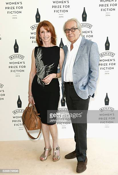 Jane Asher and Gerald Scarfe arrive to celebrate the 2016 Baileys Women's Prize for Fiction at the Royal Festival Hall on June 8, 2016 in London,...