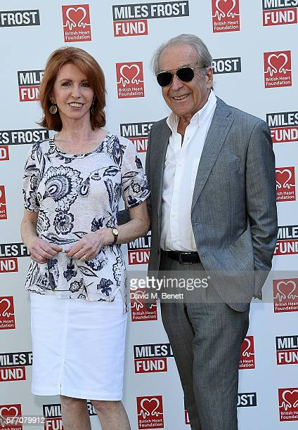 Jane Asher and Gerald Scarfe attend The Frost family final Summer Party to raise money for the Miles Frost Fund in partnership with the British Heart...