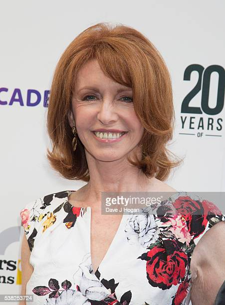 Jane Asher arrives for the The South Bank Sky Art Awards at The Savoy Hotel on June 5, 2016 in London, England.