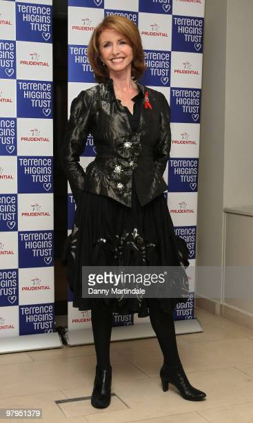 Jane Asher attends the Lighthouse Gala Auction at Christie's King Street on March 22, 2010 in London, England.