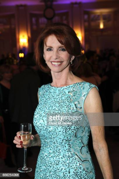 """Jane Asher attends the press night after party for """"An American In Paris"""" at the The Waldorf London on March 21, 2017 in London, England."""