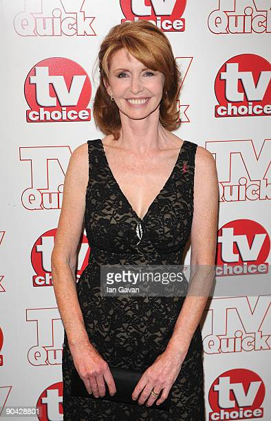 Jane Asher attends the TV Quick Tv Choice Awards at The Dorchester on September 7 2009 in London England