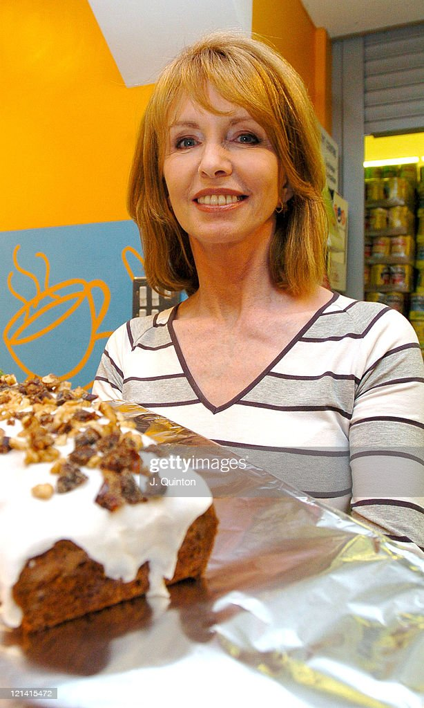 Jane Asher during 2004 Inaugural 'Home Baker of The Year' Final - Photocall at Tesco Brookfield Centre in London, Great Britain.
