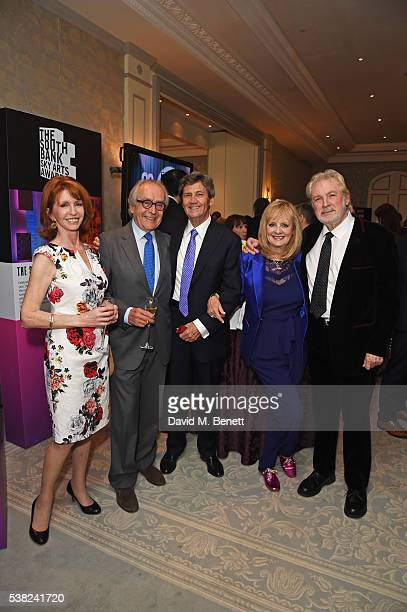 Jane Asher, Gerald Scarfe, Lord Melvyn Bragg, Twiggy and Leigh Lawson attend the The South Bank Sky Arts Awards, airing on Wednesday 8th June on Sky...