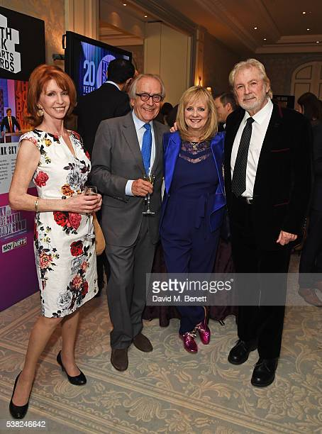 Jane Asher, Gerald Scarfe, Twiggy and Leigh Lawson attend the The South Bank Sky Arts Awards, airing on Wednesday 8th June on Sky Arts, at The Savoy...