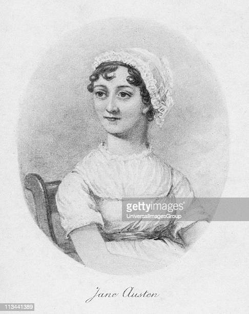 Jane Austen c1810 1902 English novelist remembered for her six great novels Sense and Sensibility Pride and Prejudice Mansfield Park Emma Persuasion...