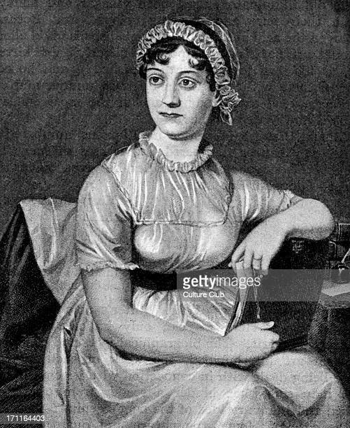 Jane Austen portrait of the English novelist as a young woman 16 December 1775 18 July 1817