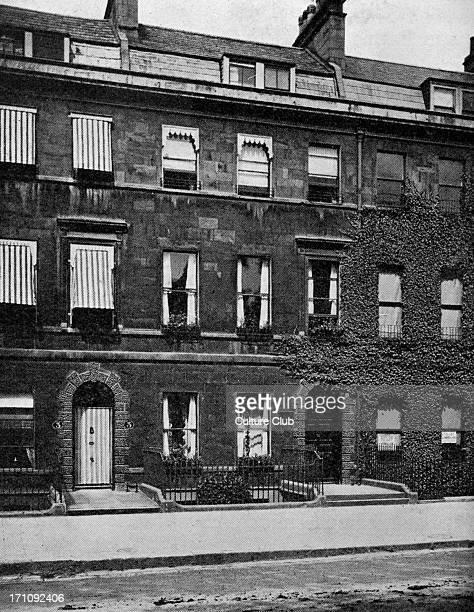 Jane Austen residence 4 Sydney Place Bath Novelist residence for four years photograph 16 December 1775 – 18 July 1817
