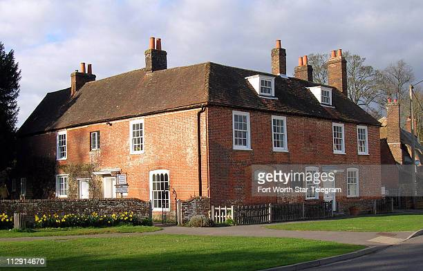 Jane Austen spent the last eight years of her life in this house in Chawton England where she wrote Mansfield Park Emma and Persuasion