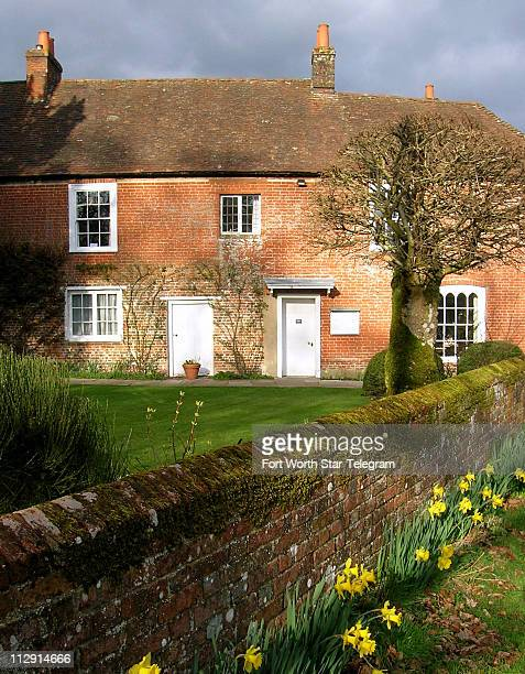 Jane Austen spent the last eight years of her life in this house where she wrote Mansfield Park Emma and Persuasion in Chawton England