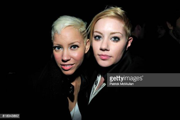 Jane Bang and Amanda Leigh Dunn attend FEED THE HOMELESS A Fundraiser for the Coalition of the Homeless at TriBeCa Grand Hotel on February 4 2010 in...