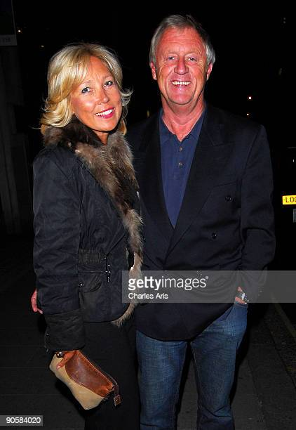Jane Bird and Chris Tarrant seen in Mayfair on September 10 2009 in London England