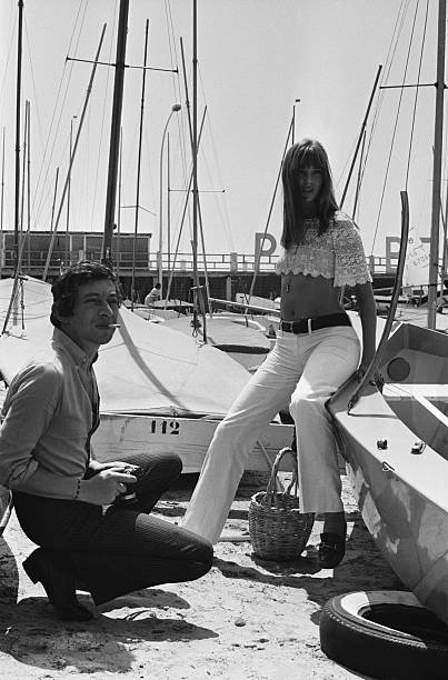 Jane Birkin and Serge Gainsbourg in 1970.