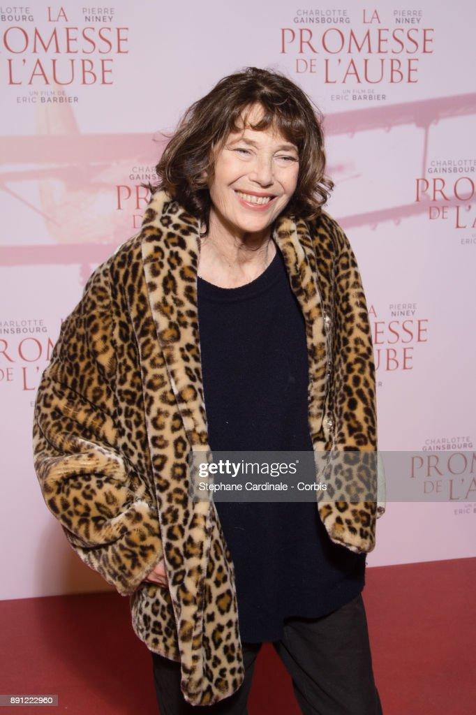 """""""La Promesse De L'Aube"""" Paris Premiere At Gaumont Opera Gaumont Capucines"""