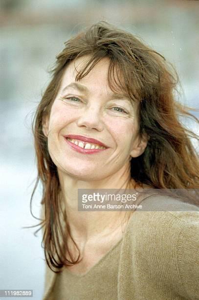 Jane Birkin during MIPTV 2001 Jane Birkin Before After Gainsbourg at Palais des Festivals in Cannes France