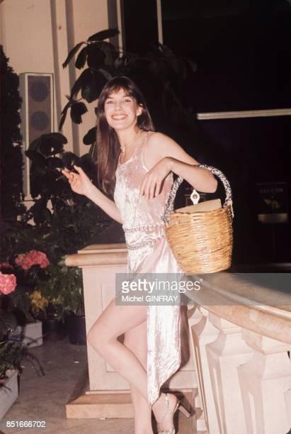Jane Birkin en 1974 à Cannes France