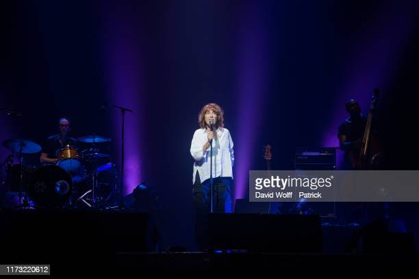 Jane Birkin performs during Immortel Show in memory of Alain Bashung at Le Grand Rex on October 2 2019 in Paris France