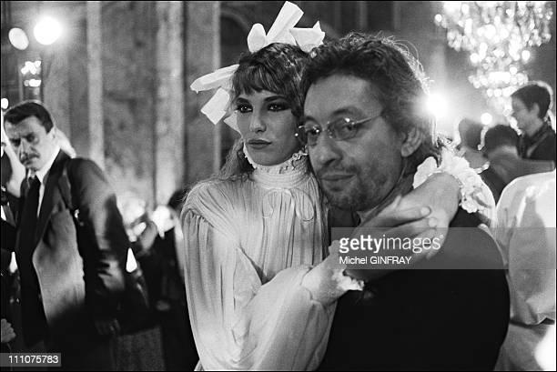 Jane Birkin Serge Gainsbourg in France on July 28th 1977