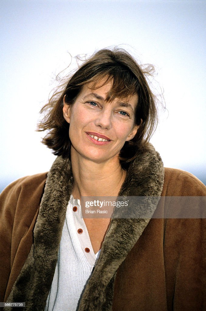 Jane Birkin, The Embankment, London, Britain - 1994 : News Photo