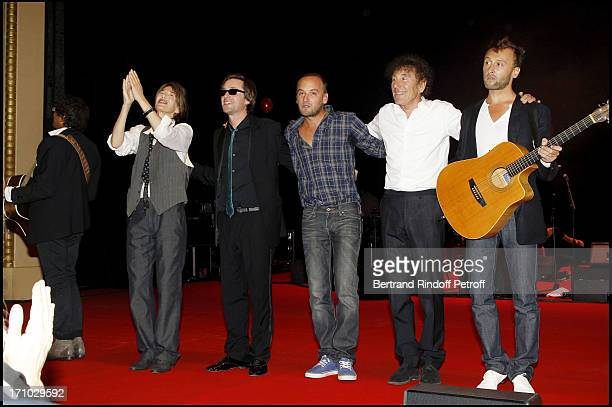 Jane Birkin Thomas Dutronc Ours Charles Souchon Alain Souchon Pierre Souchon at 6th Charity Gala Of Ifrad Against Alzheimer 's Disease At Opera...