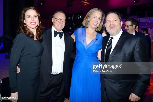 Jane Boon, Norman Pearlstine, Nancy Gibbs and Harvey Weinstein attend the 2015 Time 100 Gala at Jazz at Lincoln Center on April 21, 2015 in New York...