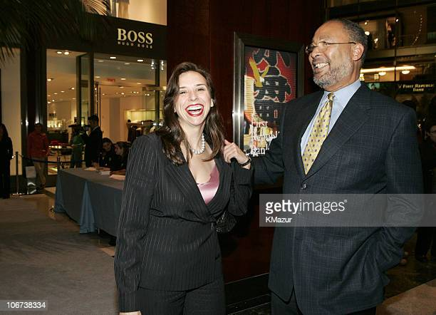 Jane Boone and Dick Parsons, chairman/CEO, Time Warner Inc.
