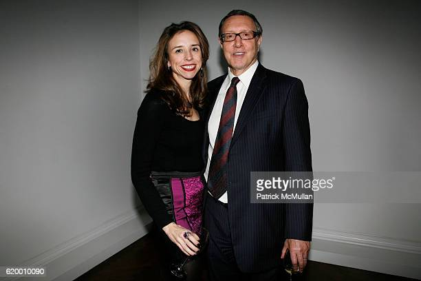 Jane Boone and Norman Pearlstine attend DOMINIQUE LEVY, DOROTHY BERWIN and RICHARD GEOFFROY launch four extraordinary DOM PERIGNON vintages at L & M...