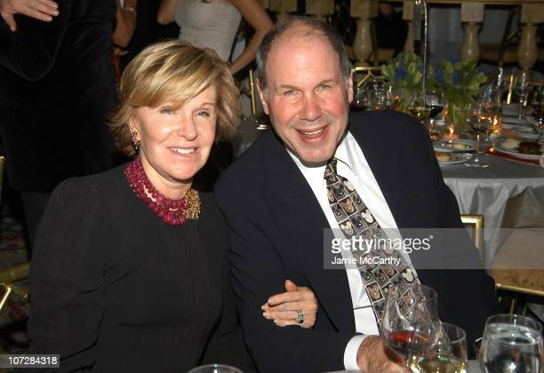 Jane Breckenridge and Michael Eisner at amfAR's New York Gala to Honor Patti LaBelle Sumner Redstone and Peter Dolan