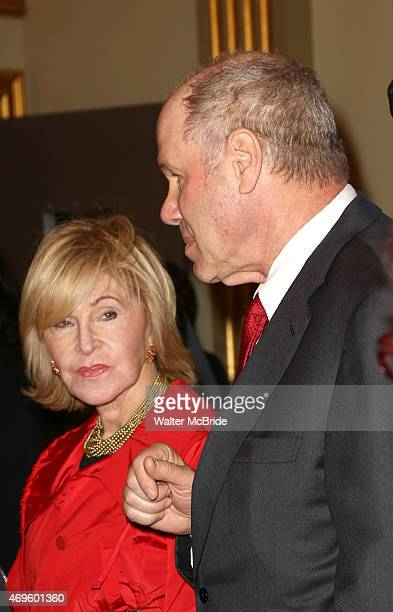 Jane Breckenridge and Michael Eisner attend the Broadway Opening Night Performance of 'An American in Paris' at The Palace Theatre on April 12 2015...
