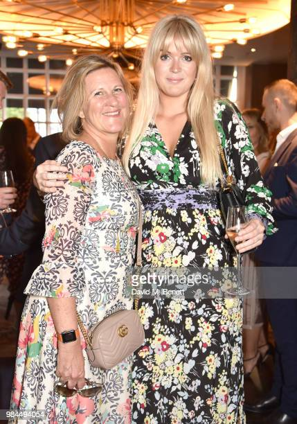 Jane Bruton and Dolly Alterton attend the launch of 'For Good Causes' new social media campaign launch at Ruya Mayfair on June 26 2018 in London...
