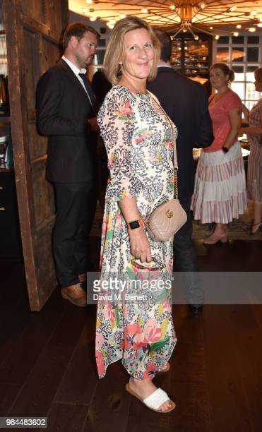 Jane Bruton attends the launch of 'For Good Causes' new social media campaign launch at Ruya Mayfair on June 26 2018 in London England