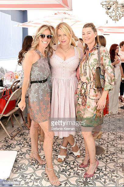 Jane Buckingham Amanda de Cadenet and Ellen Pompeo attend Glamour's Game Changers Lunch hosted by EditorinChief Cindi Leive Zendaya at AU FUDGE on...