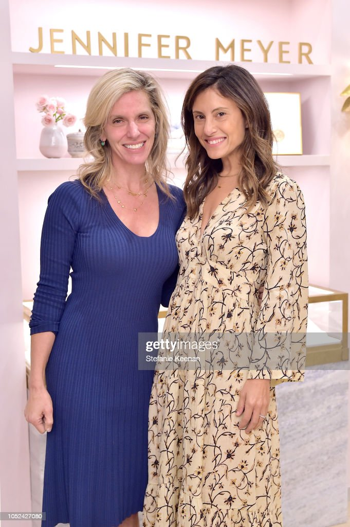 Jennifer Meyer Celebrates First Store Opening in Palisades Village At The Draycott With Gwyneth Paltrow And Rick Caruso : News Photo