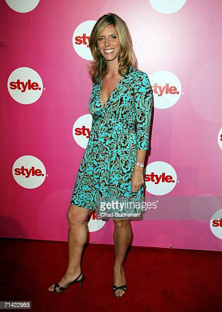 Jane Buckingham arrives at the Style Network Party At The Summer TCA Tour on July 11 2006 in Pasadena California